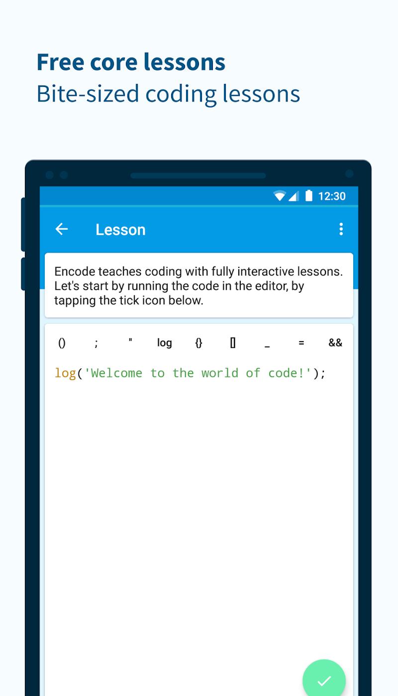 Encode: Learn to Code Screenshot 1