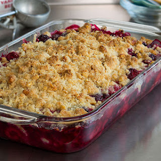 Mixed Berry Crisp.