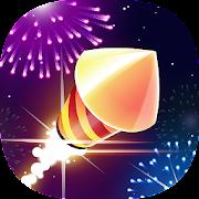 Flashy Fireworks: Shoot the firework rocket league