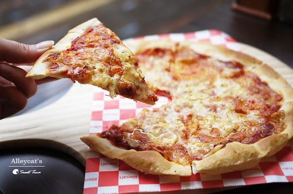 Alleycat's 手工窯烤披薩-京站店 | Pizza 燉飯 甜點 ღ京站旁.捷運台北車站ღ