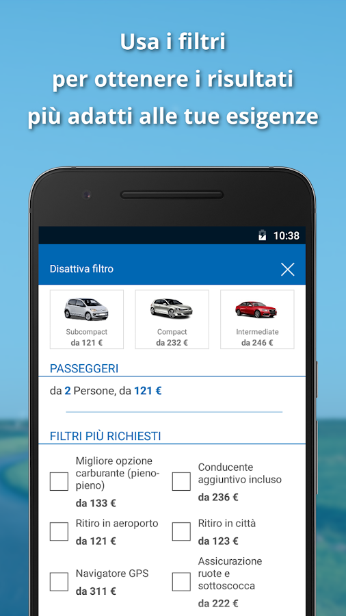 HAPPY-CAR.it: auto a noleggio- screenshot