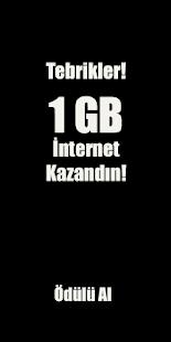 1 GB Hediye İnternet Kazandıran Uygulama - Yarışma - náhled