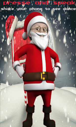 Talking Santa Xmas