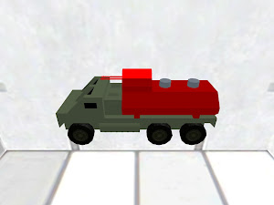 Armored garbage truck 2