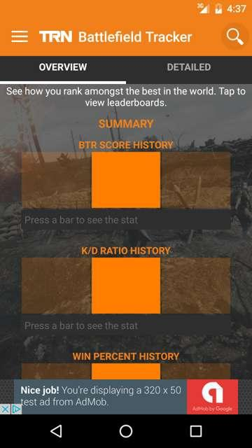 TRN Stats: Battlefield 1- screenshot