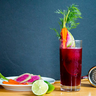 The Beet Poet featuring Kachka's Horseradish Vodka