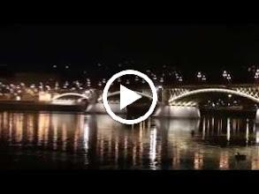 Video: hungary, travel, margaret, bridge, budapest