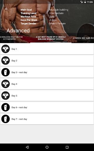 GymApp Pro Workout Log screenshot 16