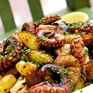 Octopus with Potatoes.