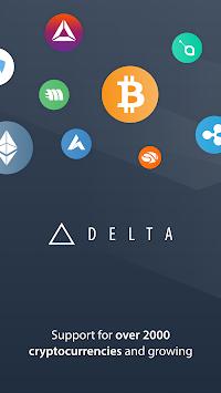 Delta - Bitcoin & Cryptocurrency Portfolio Tracker