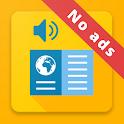 News Voice Reader (no ads) icon