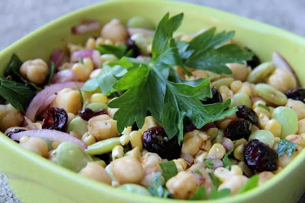 Late Summer Succotash With Cumin Vinaigrette Recipe