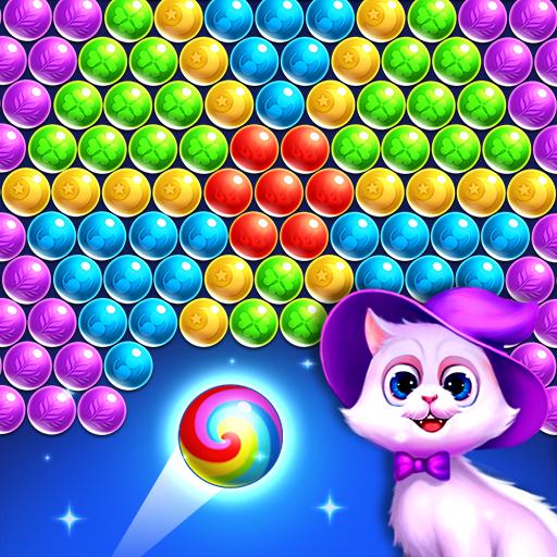 バブルシューター - レスキュー猫 解謎 App LOGO-硬是要APP