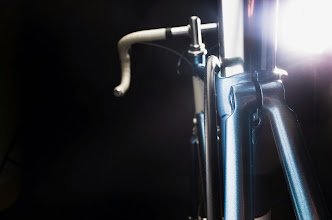 Photo: Fastback seat cluster with the brake housing hugging the seat post.
