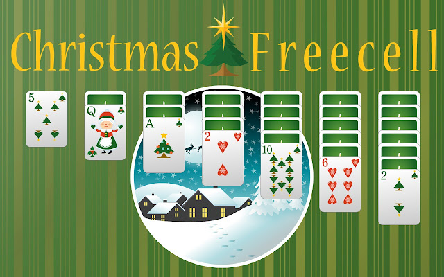 Christmas Solitaire Freecell.Christmas Freecell