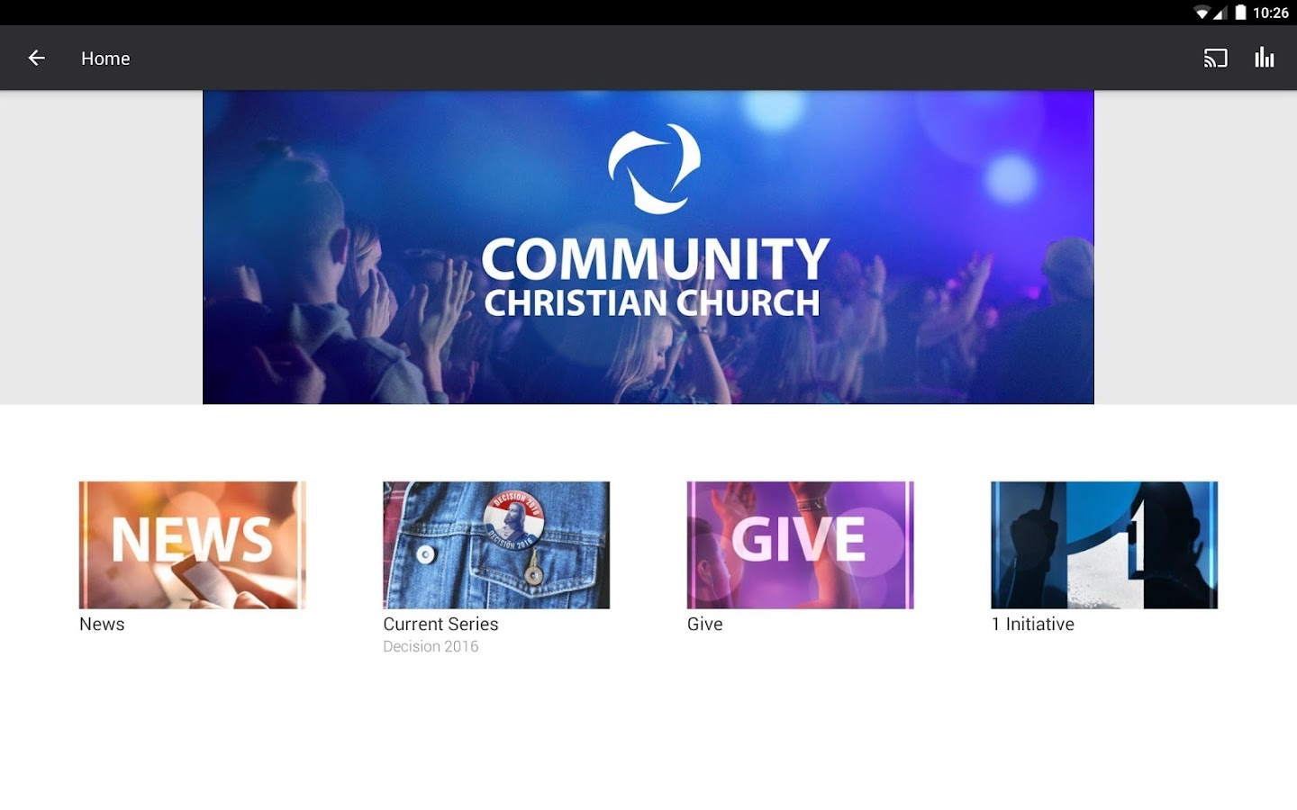 Community Christian App- screenshot