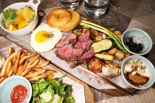 台南中西區早午餐 飲食客In Stock 真材實料、精緻飽足早午餐