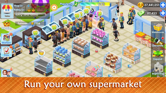 My Supermarket Story Store tycoon Simulation v 2 5 hack mod