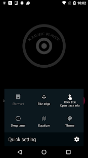 Onemp Music Player Screenshot