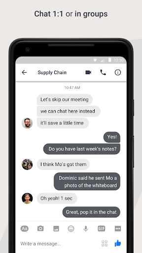 Workplace Chat by Facebook Screenshots 2