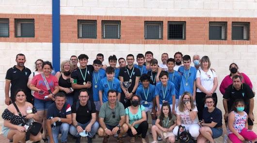 Fiesta en Adra con la Supercopa de Almería