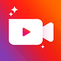 Video maker with photo & music icon