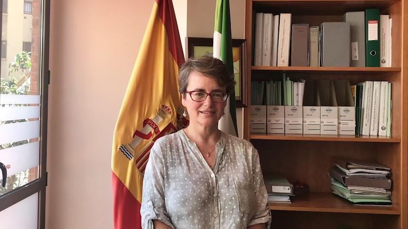 Mª Teresa García, presidenta del Colegio Oficial de Ingenieros Agrícolas