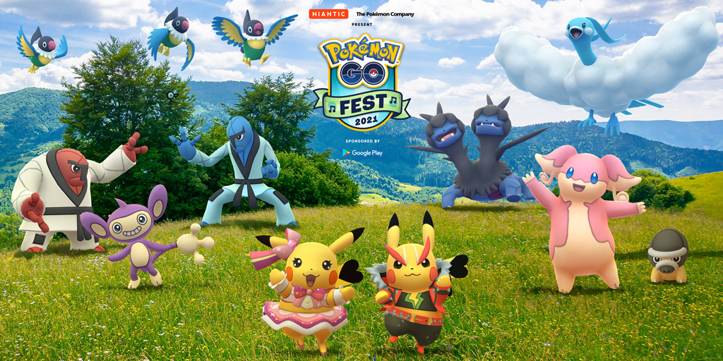 Pokémon GO Fest 2021 might be coming to a city near you!