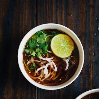 Vegan Pho w/ Daikon Noodles