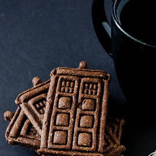 Chocolate Chai Cut-Out Cookies