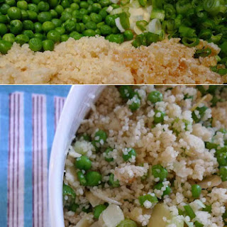 Couscous, Ginger And Spring Onion Salad