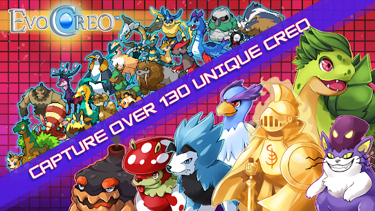 EvoCreo – Lite: A free monster battle RPG App Latest Version Download For Android and iPhone 8
