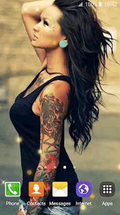 Фото татуерованых тёлак скачать на телефон фото 671-842