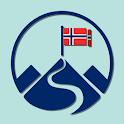 Samfunn-statsborgerprøve: Norway citizenship test icon