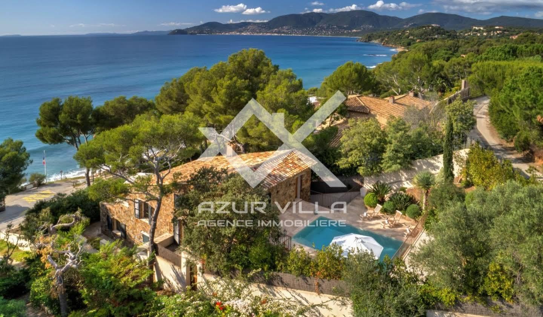 Villa en bord de mer avec jardin La Croix-Valmer