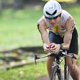 Singapore International Triathlon 2016   by Chin KK - Sports & Fitness Cycling ( daytime, sit2016, aero, cycling, triathlon )