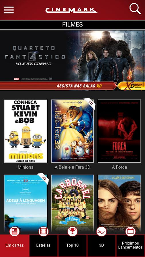 Cinemark Brazil- screenshot