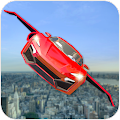 Real Flying Car Transformation Robot Simulator APK
