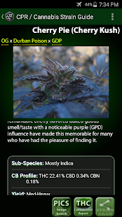 Cannabis Pocket Reference- screenshot thumbnail