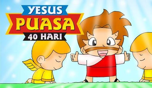 Komik Alkitab YESUS Puasa 40Hr