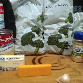 Crock Pot Broccoli Cheese Soup