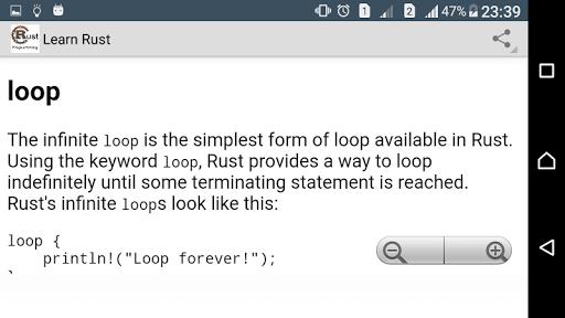 Learn Rust Programming Pro screenshot 4