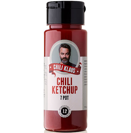 Chiliketchup 7 Pot vindstyrka 12 – Chili Klaus