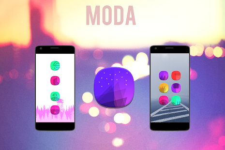 Moda - Icon Pack Screenshot