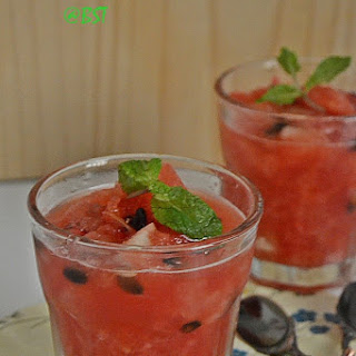 Bathakka Edichathu ~ Mashed Watermelon.