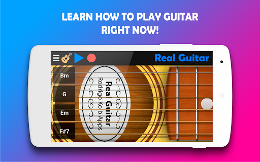 Real Guitar - Play the guitar never been so easy! 5.3 Screenshots 1