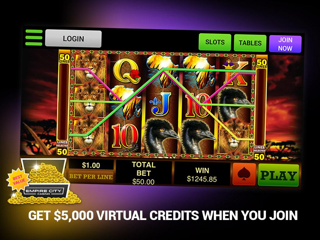 Empire City Casino Slots- screenshot