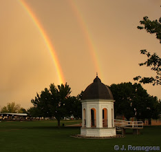 Photo: Double Rainbow Gazebo