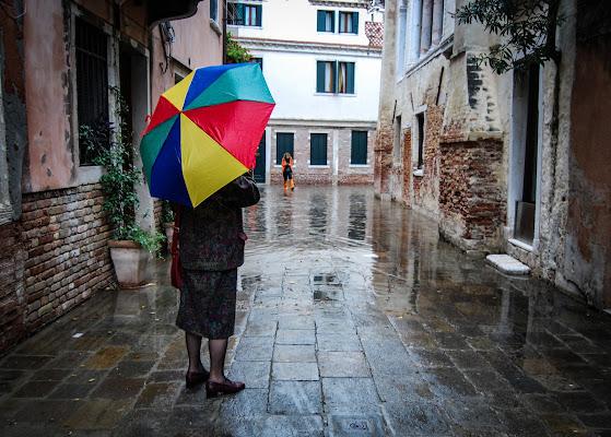 Acqua alta a Venessia di rosy_greggio