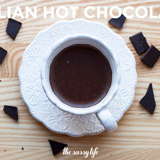 Insanely Rich Italian Hot Chocolate